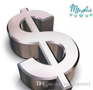 001 Personnaliser l'affranchissement Maquillez à la différence pour augmenter le prix Ajouter 1 USD