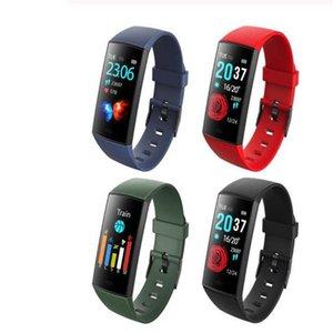 Pulsera inteligente Rastreador de ejercicios CY11 con frecuencia cardíaca real Reloj deportivo inteligente Pantalla LCD colorida para teléfonos Android iPhone