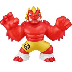 Super hero Of Goo Jit Zu Squeeze Squishy Rising Anti Stress Toys Action Figure Rubber Dolls For Boys Kids Gift Cartoon Dragon