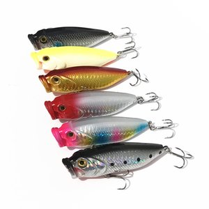 Fishing Lure Topwater Big Mouth Popper Artifiical Lures Bait 8cm 13.5g Hard Bait Catch Bass