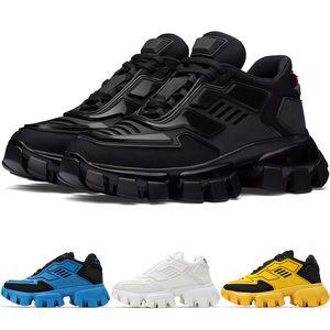 New Fashion Mens Cloudbust Thunder Knit Sneakers Women Mesh Running Shoes Black White Blue Avant-garde Sci-fi Design Trainers 1E819L-3KR