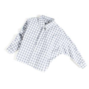 PEU DHERBE GARÇONS chemise d'enfants ressort 100% COTON FLANNEL YD VERIFIER Chemise BIG SLEEVE