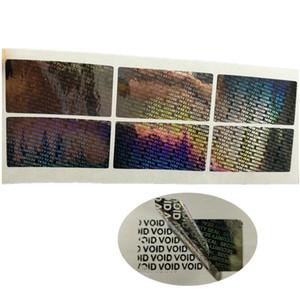 Home Garten 200pcs Sicherheits Siegel Hologram Tamper Proof Sicherheitsgarantie Void-Aufkleber Aufkleber Hausgarten