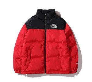 Yeni Yüz Kuzey Mens Tasarımcısı Kapşonlu Parkas Aşağı Coat WINDBREAKER Marka Sıcak ceketler Erkekler Kadınlar Lüks Fermuar Kalın ceketler Coat Tops