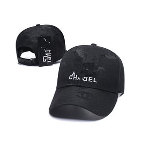 chanel diseñador de las gorras de marca para calidad superior sombreros mujeres de algodón ajustable Cola de caballo gorras de béisbol al aire libre sombrero de camuflaje sombreros