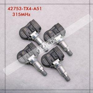 타이어 RPESSURE SENSOR 2013 2014 MDX는 315MHz 42753-TX4-A51 TPMS 센서 타이어 압력 oLvb #