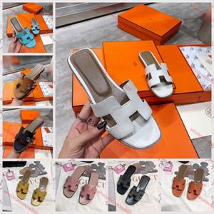 Hermes slippers 2020 Livraison française nouvelle Lian mode pantoufles d'été en cuir femmes chaussures épaisses et confortables xshfbcl sandales à talon taille 36-40