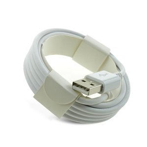 Hızlı Kablo Orijinal OEM Kalite 1m 3 ft 2m 6 ft USB Data Sync Şarj Kablosu Kordon Şarj OD 3.0mm 7 kuşak USB