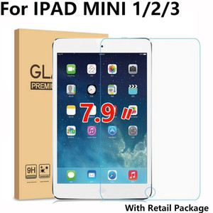 "7.9"" Screen Protector for iPad Mini Tempered Glass for iPad Mini 1 2 3 Screen Protector for iPad Mini2 Mini3 A1490 A1600 A1432"