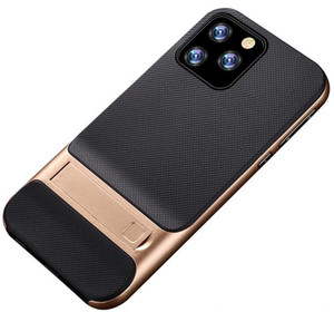 New Ständer Telefon-Kasten für iphone 11 Pro Max X 6 7 8 Plus PC-Halter TPU Stoß- ultra dünne harte rückseitige Abdeckung
