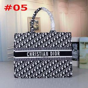 Späteste Art und Weise der Qualitätsfrauen Taschen Damen DESIGN COLOR ALPHABET Printed BRACELET Big Einkaufstasche Baumwolltuch Schultertasche