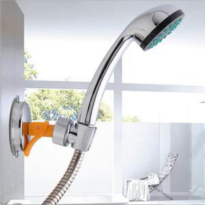 Yeni Moda Duş Başlığı Handset Tutucu Tam Krom Banyo Duvar Montaj Ayarlanabilir Emiş