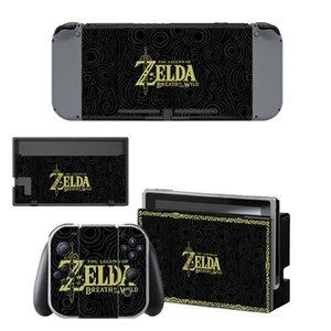 Piel Nintendoswitch La leyenda de Zelda serie de juegos Interruptor de pegatinas Decal para el interruptor de la consola Nintendo Alegría-controlador CON Muelle