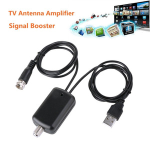 Antena Digital HDTV Amplificador de Sinal Booster para Antena de TV a Cabo Melhor Sinal HD Canal 25db TV Booster Amplificador