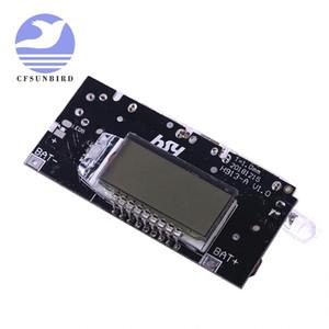 Protección automática! Doble USB 5V 1A 2.1A Batería de litio móvil Cargador de batería de litio Módulo PCB digital