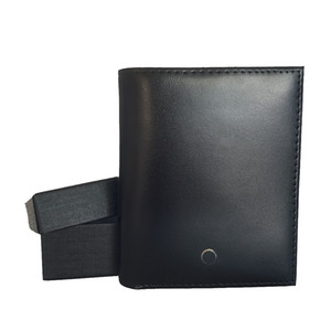 Heißer Verkauf Männer Geldbörse Kartenhalter Kombination Leder Brieftasche Deutsch Handwerkskunst Taschenhalter Kreditkarten-ID-Gehäuse-Geschenk-Set-Geldbörse