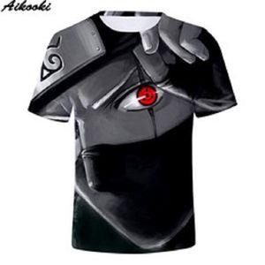 Tops Camisa de los hombres T 3D Hombres camiseta Harajuku mujeres del verano de las camisetas de los hombres 3D Naruto camiseta de manga corta de los hombres de