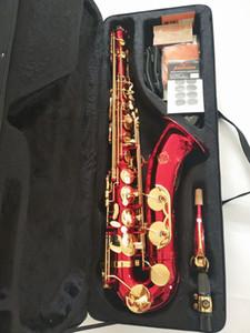 Brand Japan Real Musical Strument Suzuki BB Tenor Sassofono Sassofono in ottone Body Golden Golden Gold Gold Sax con bocchino