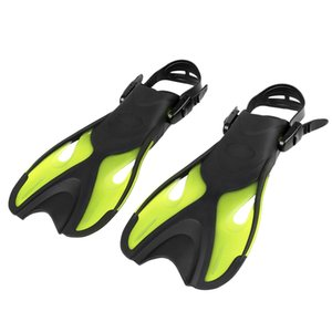 Adults   Kids Diving Fins Open Heel Flippers Adjustable Strap Swimming Snorkeling Scuba Equipment