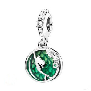2019 Original 925 gioielli in argento ciondolo Mermaid Beads Charm Fits braccialetti europei Pandora per le donne che fanno
