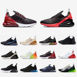 Nike Air Max 270 React Bayan Bauhaus için koşu ayakkabıları mens beyaz siyah Top Top Kalite Nefes Açık Yastık Spor Sneaker Ayakkabı Boyutu 40-45