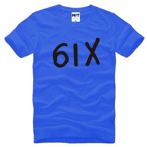 New Designer Six Drake T-shirts hommes coton à manches courtes Drake Hiphop 6IX T-shirt des hommes de la mode Hip Hop Rap Homme T-shirt Swag
