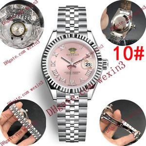 15 colori strass 28 millimetri Designer donne di lusso digitale automatico romano Guarda Dropshipping donna Orologi per i regali delle donne orologio da polso