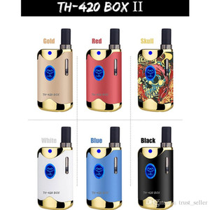 100% Original Kangvape TH-420 II Starter Kit 650mAh VV TH420 2 Battery Box Mod 0.5ml 92a3 Thick Oil Cartridge Tank Authentic