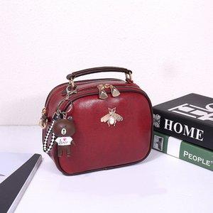 Дизайнерская женская сумка 2020 простая мода плечо диагональная кожа роскошные дамы маленькая квадратная сумка