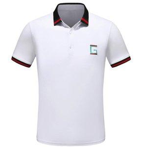 Mens Luxury T-shirt Spring Cotton Brand T-shirt Snake Bee Printed POLO Shirt designer T-shirt polos Asian Size M-3XL