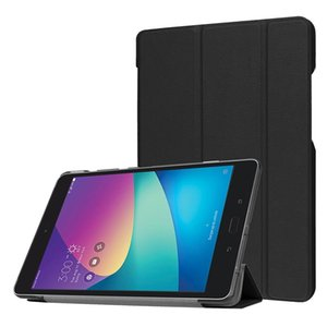 For ASUS ZenPad Z8s Custer Texture Horizontal Deformation Flip Leather Case with Three-folding Holder