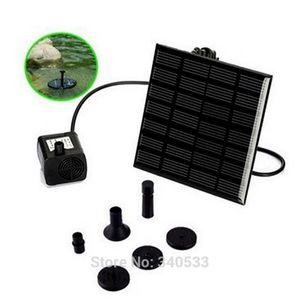 180L / H Sin escobillas DC Bomba de agua solar Kit de panel de energía Fuente Piscina Jardín Riego Pumb Fuente de energía solar Rociadores de jardín