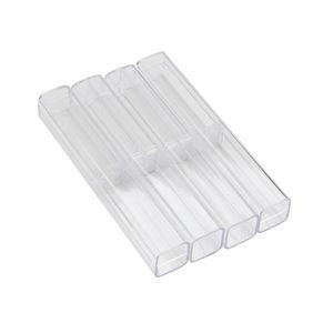 Cristal acrylique Microblading Pen Boîte Caneta Microblading Tebori Affichage et boîte de rangement Brow Manuel Tattoo Supplies