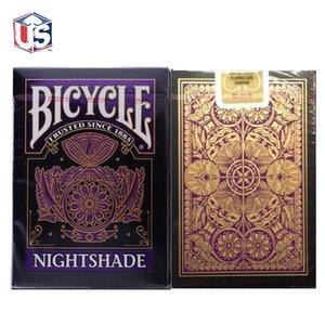Nightshade biciclette carte da gioco Poker Dimensione USPCC edizione limitata Club 808 Problema mazzo di Magic giochi di carte trucchi magici puntelli