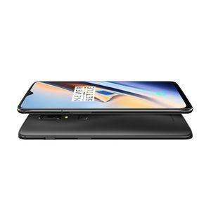Cellule d'origine OnePlus 6T 4G LTE Phone 8 Go de RAM 128Go ROM Snapdragon 845 Octa base Android 6,41 pouces 20.0MP ID d'empreintes digitales Smart Mobile Phone