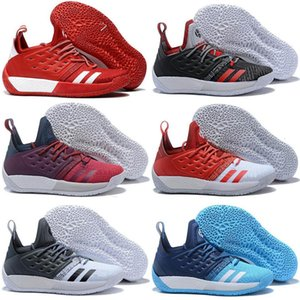 hot shoes New New Arrival Harden 2 Vol.2 Men's Basketball Kids Shoes Wolf Grey trainer Sneakers Sports shoes