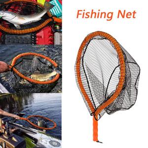 Fish Net artes de pesca Fundição 68X45cm Net Linha Cutterz Lunker Snatcher flutuante Pesca Ferramenta J11