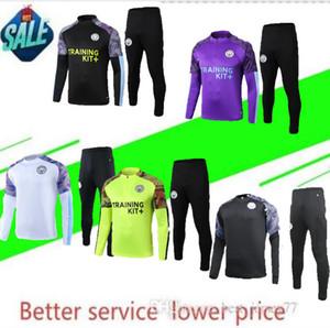 19 20 Adult Città tuta da calcio giacca 2019 2020 Mahrez De Bruyne KUN AGUERO calcio tuta tuta da jogging