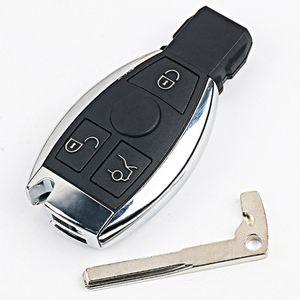 3 Bouton de remplacement Shell intelligent à distance Case clé pour Mercedes-Benz CLS BGA CLK CLA SLK W203 W210 W211 AMG W204