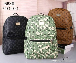 2019 Designers Mochila Mens Luxo Backpack Marca ombro dupla sacos de escola clássico Moda Bolsas Designers Bolsa de Ombro