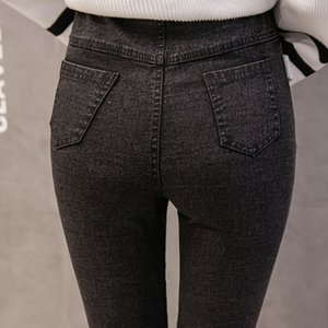 Pregnancy Pants Belly Jeans Maternity Clothes For Pregnant Women Elastic Waist Leggings Stretch Abdominal Trousers Maternidade