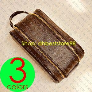 Viaggi cosmetici igienici sacchetto di lusso da uomo M47528 KING SIZE BEAUTY BORSA Dopp Kit Designer femminile Beauty Case Borsa Pochette Accessoires 26 19