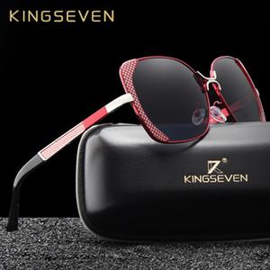 KINGSEVEN Brand Design Luxury Polarized Sunglasses Women Ladies Gradient Butterfly Sun Glasses Female Vintage oversized Eyewear CX200704
