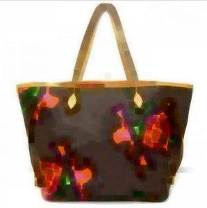 2020 Designer-Handtaschen Ursprüngliche lederne Frauenhandtaschen Art und Weise Frauen Rosen NEVERFULLS Handtaschentasche einkaufen Umhängetasche