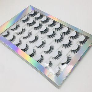 Смешанные с нижними ресницами Создать собственную Марку Lashes Книги Настроить 3D норковые Ресницы Упаковки Книги с Private Label