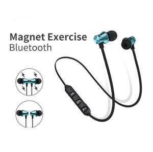 Magnetic Bluetooth Headset Wireless Sports Bluetooth 4.2 Portable Phone Headset Gifts FOR:IPHONE HUAWEI Samsung Motorola earphone