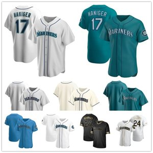Seattle Mariners 2020 Jersey Mallex Smith Daniel Vogelbach Domingo Santana Ken Griffey Jr. Narvaez Gordon Ichiro Suzuki Seager Elias Jerseys