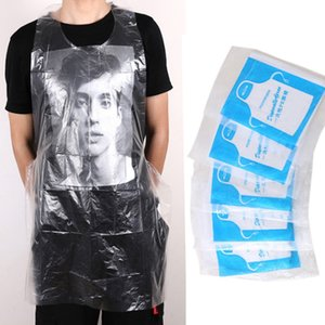 25pcs   set waterproof multifunctional painting apron men's party female dinner kitchen cooking children's disposable apron