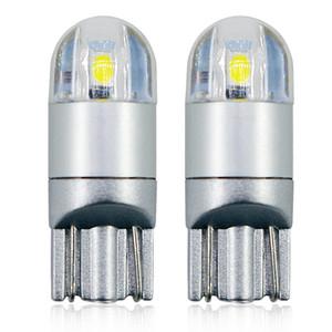 T8 T10 194 W5W 3030 2SMD الصمام السيارات متر واسعة مصباح سيارة الجذع الخفيفة