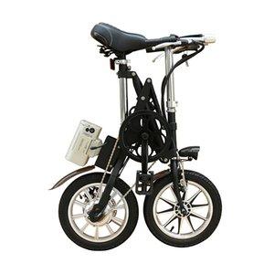 36V250W 14 « » vélo pliant électrique avec la batterie au lithium vélo électrique de frein à disque de moteur sans balais